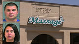 Husband, wife accused of running prostitution ring from Del City massage parlor