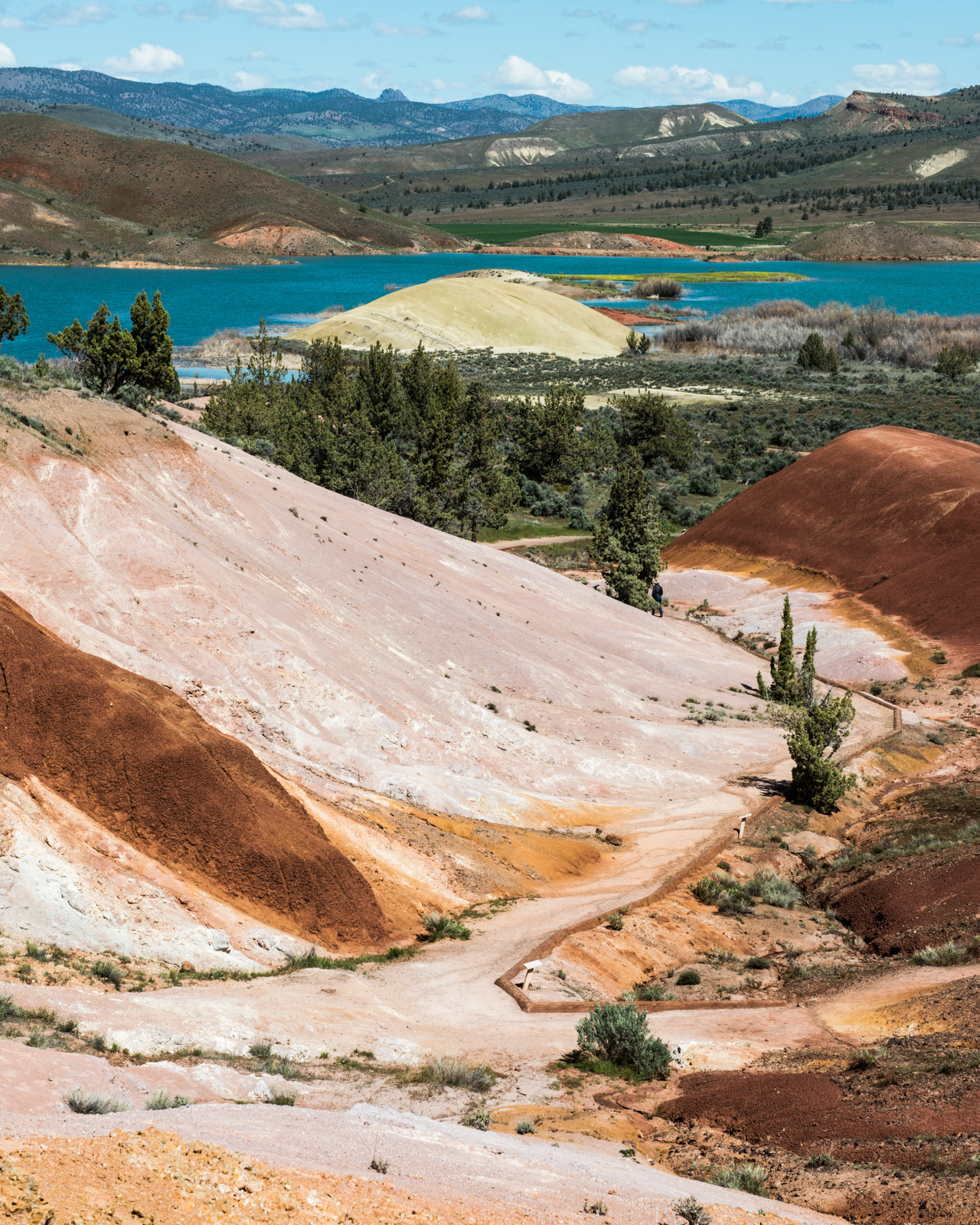 Just about a six hour drive southeast of Seattle, a trip to the Painted Hills is the fastest way to enter - or at at least feel it - a completely different galaxy. Be sure to hop on the 84 near the WA / OR border for the scenic route along the Columbia River Gorge if you embark from Seattle - you certainly won't regret it. And hey, it's not like there's a shortage of amazing coffee shops to hit for a little pick-me-up while you're in transit. Click on for photos of the swirly, water color-esque terrain of one of Oregon's Seven Wonders. (Image: Chona Kasinger / Seattle Refined)