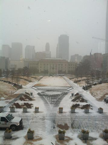 Photo taken from the Oklahoma City Civic Center Music Hall