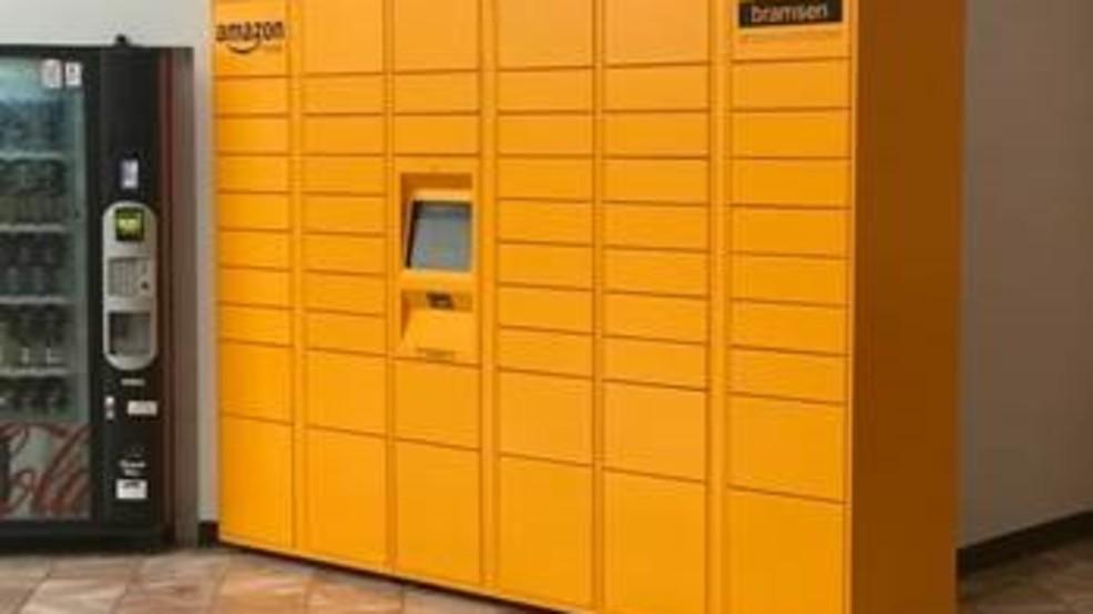 amazon lockers available at sunland park mall kfox. Black Bedroom Furniture Sets. Home Design Ideas