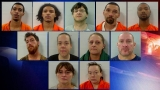 12 arrested, drugs and guns seized in Augusta bust