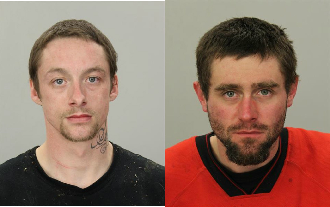 Skyler Waldrop & Gregory Kister (Coos County Sheriff's Office photo)