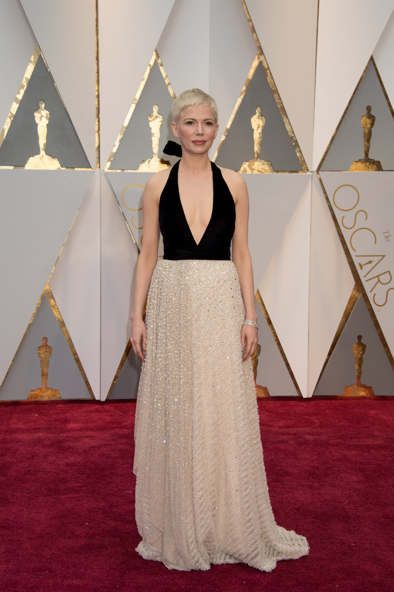 #21: Michelle Williams. Simple. Classic. And it works. (Image: AMPAS)