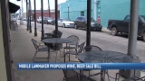 Decision expected today on bill to allow sidewalk alcohol ordering in downtown Mobile
