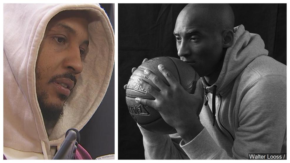 Carmelo Anthony mourns Kobe Bryant, says their relationship was 'deeper than basketball'