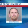 Man arrested for Cedar Rapids bar break-in