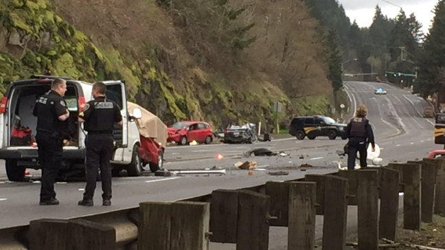 Scappoose man killed in 5-car crash along Highway 30