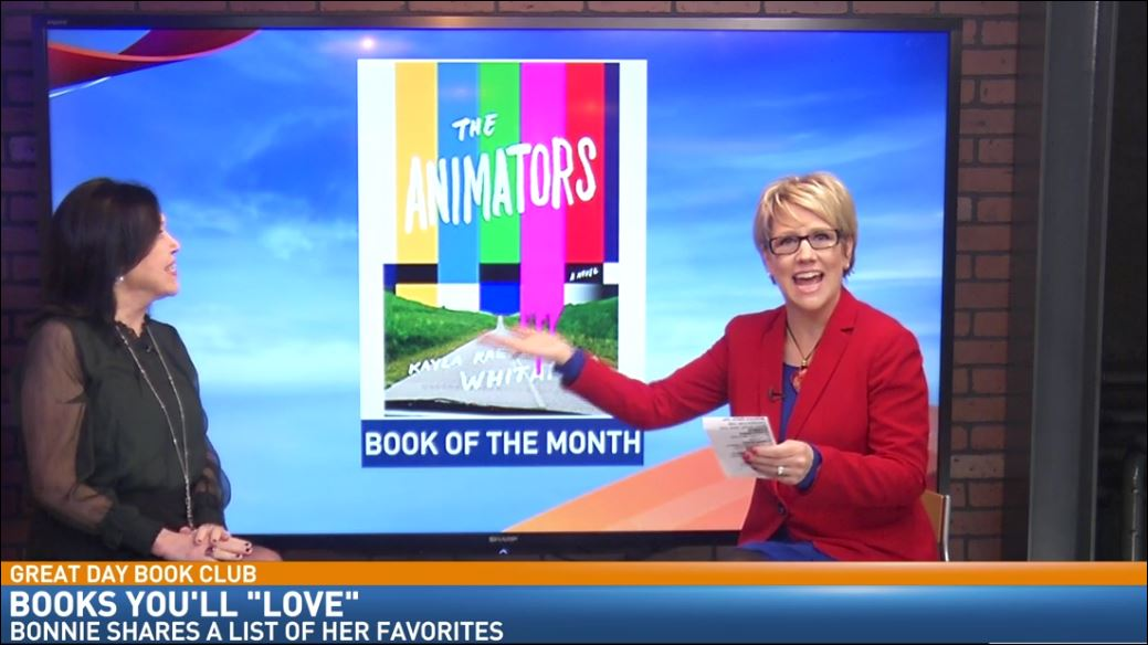 Bonnie's Book of the Month: The Animators by Kayla Rae Whitaker