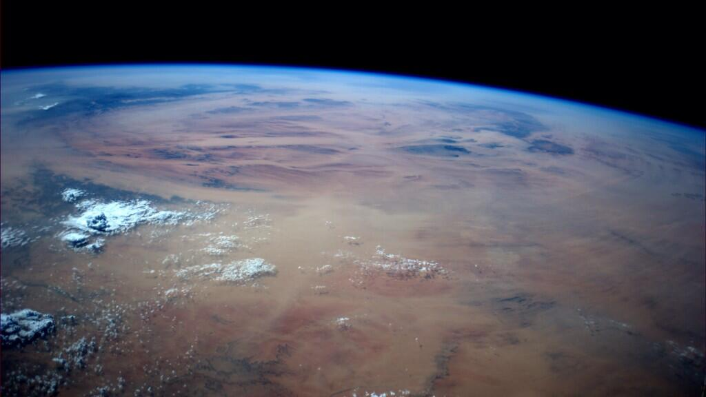 Earth... #Africa in late afternoon (Photo & Caption: Reid Wiseman, NASA)