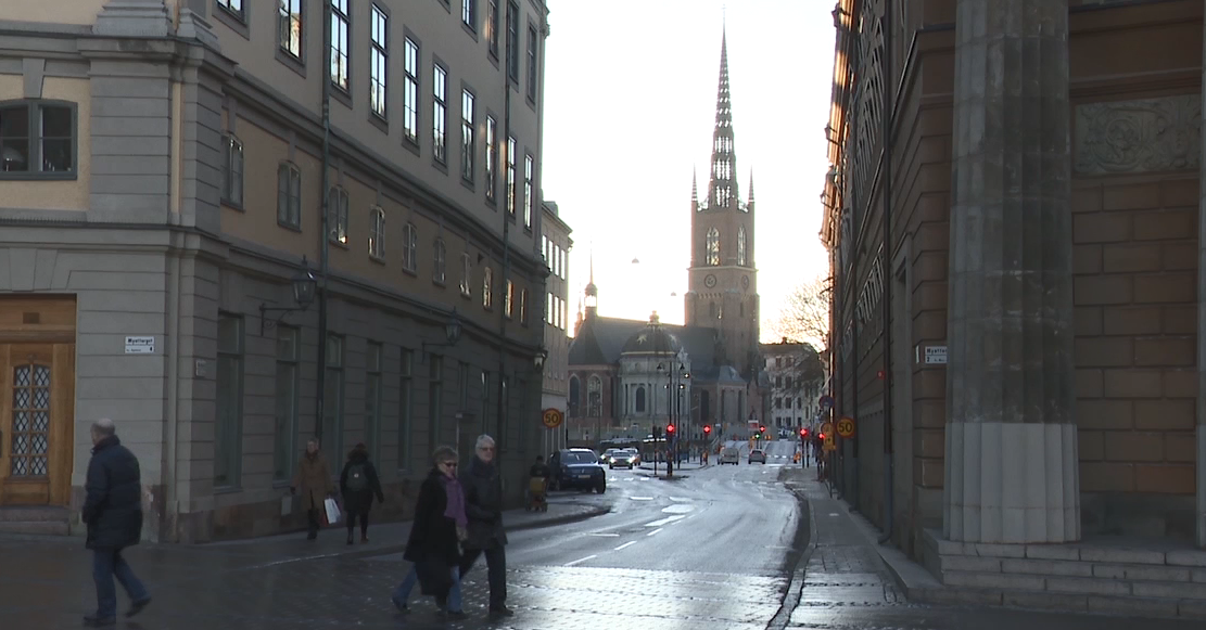 Stockholm, Sweden near Parliament (Sinclair Broadcast Group)