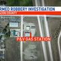 P & V gas station robbed at gunpoint, suspects at large