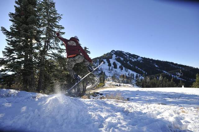 Mt. Ashland hosts their annual Snow Stomp Party. - Jamie Lusch