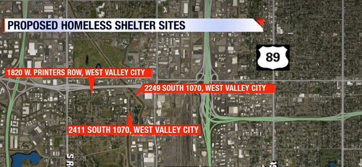 10 days to decide, mayor says more sites could be considered for county homeless shelter (KUTV)