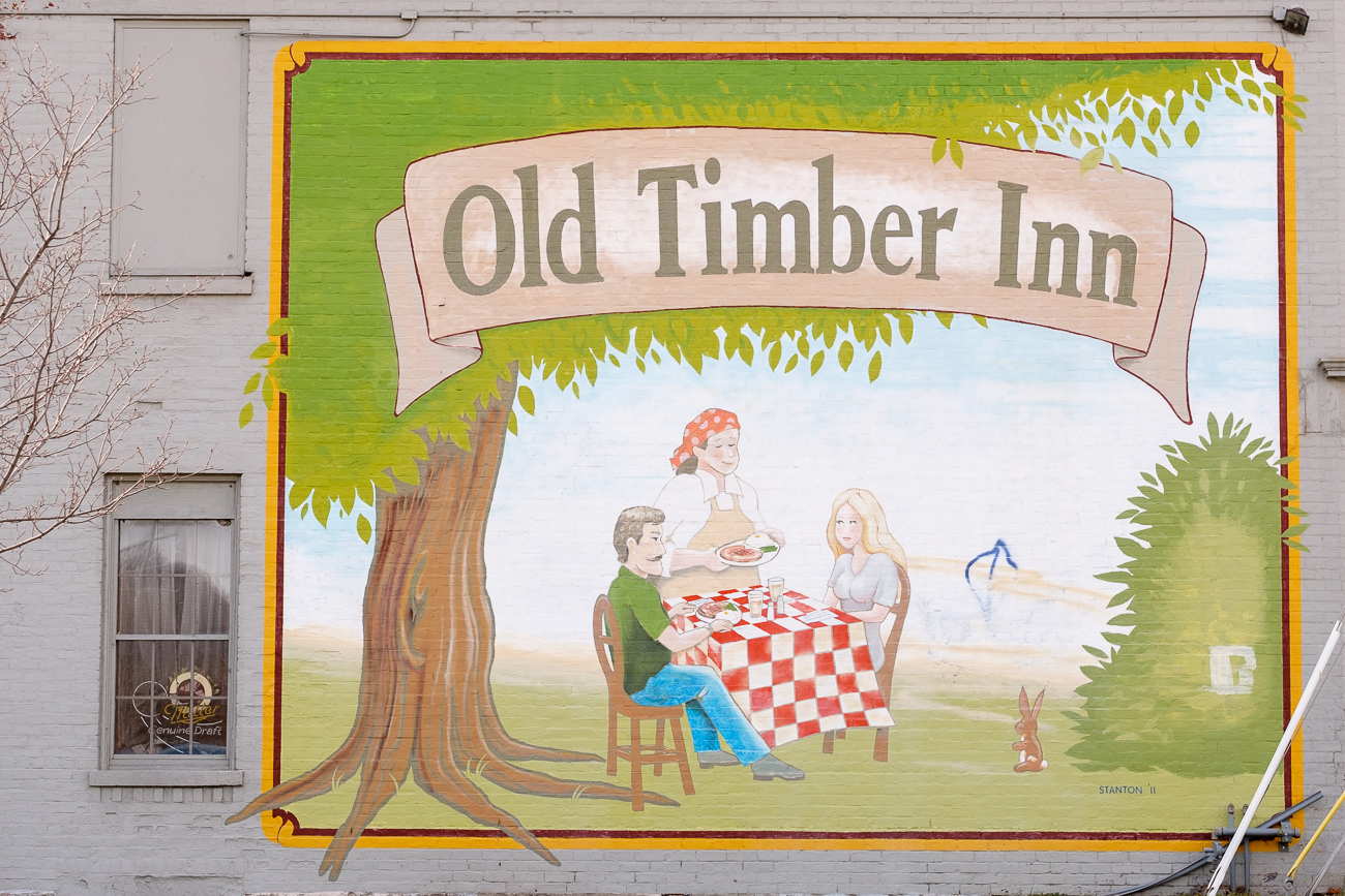 SIGN: Old Timber Inn ADDRESS: 4330 Spring Grove Ave, Cincinnati, OH 45223 // Image: Daniel Smyth // Published: 2.18.17