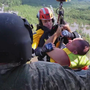 Video shows AFD Lt. rescuing flood victims with the National Guard