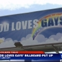 'God Loves Gays' billboard debuts in SLC