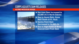 U.S. Army Corps of Engineers adjusts dam releases