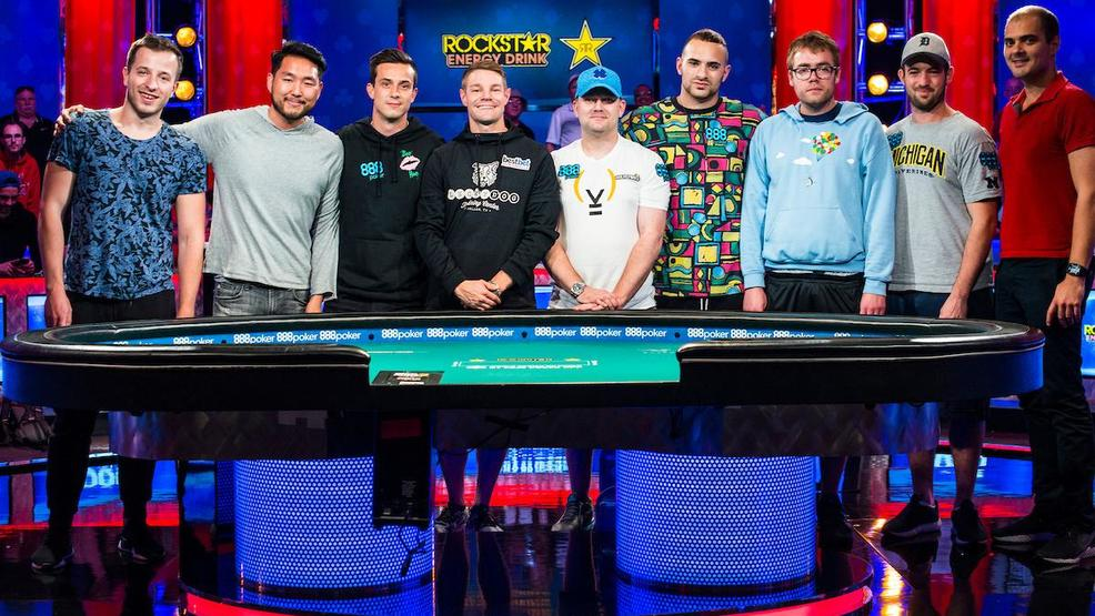 Final table set for world series of poker main event ksnv - Final table world series of poker ...
