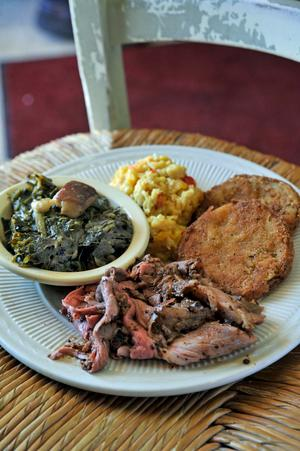 "Arnold's Country Kitchen – Heard the term ""meat and three"" before? If not, make this Nashville staple a destination when in the city, and grab some of the best plates of a meat and 3 sides (or more!). The secret is out on this spot, but the lines move fast. Just make sure to remember that they only open for lunch. (Photo courtesy: Arnold's Country Kitchen)"