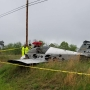Officials: Single-engine plane crashes in field near Leesburg airport