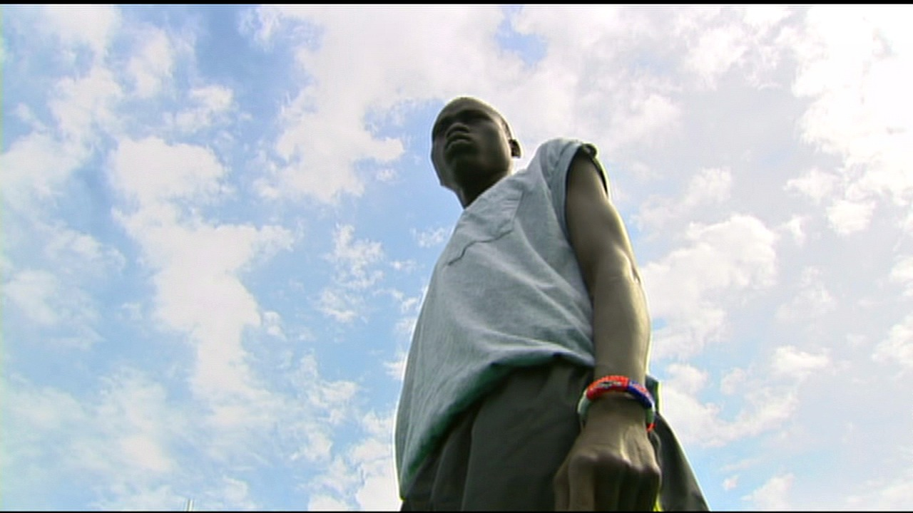 One boy, Daniel Mayen, and one man, Mawut, have ties that bind them together forever. (KOMO News){ }