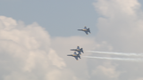 Blue Angels put on special performance for kids with A Special Wish