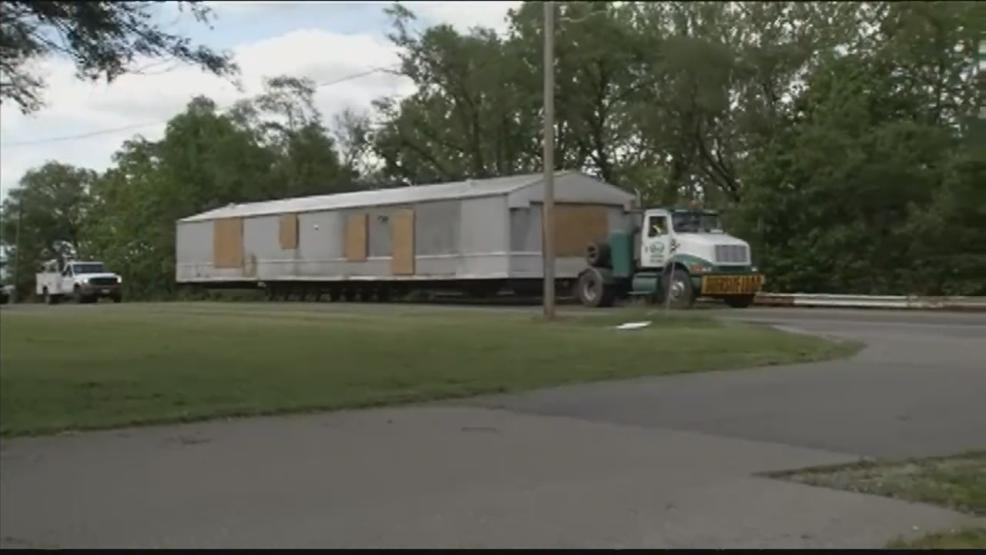 During the investigation, Ohio BCI removed the Rhoden family trailers to move them to storage for further investigation. (WSYX/WTTE)