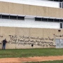 Student paints sexual assault claim on Austin school