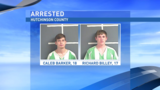 Deputies arrest 2 teens after traffic stop leads to discovery of marijuana, cash