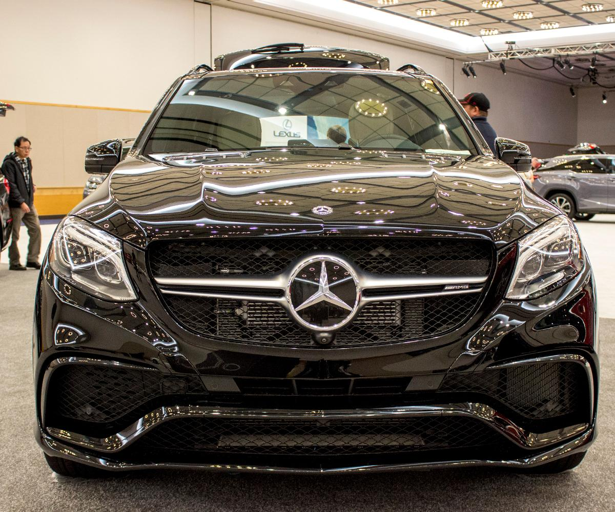 Mercedes 2018 AMG GLE 63 S SUV - The Portland International Auto Show began at the Oregon Convention Center on Jan. 25, 2018. The event drew prospective buyers and others who enjoyed looking at and comparing vehicles. Photo by Amanda Butt