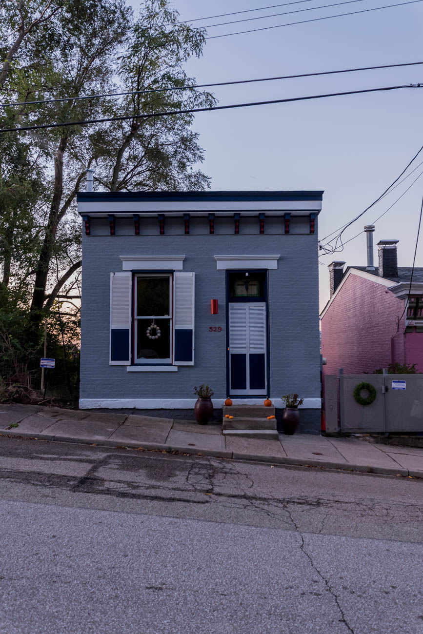 Tiny buildings are all around Cincinnati. The trick is finding them amid the hulking skyscrapers and high-rises in the area. Here's a sampling. ADDRESS: 529 Boal Street / Image: Mike Menke // Published: 11.6.17<p></p>