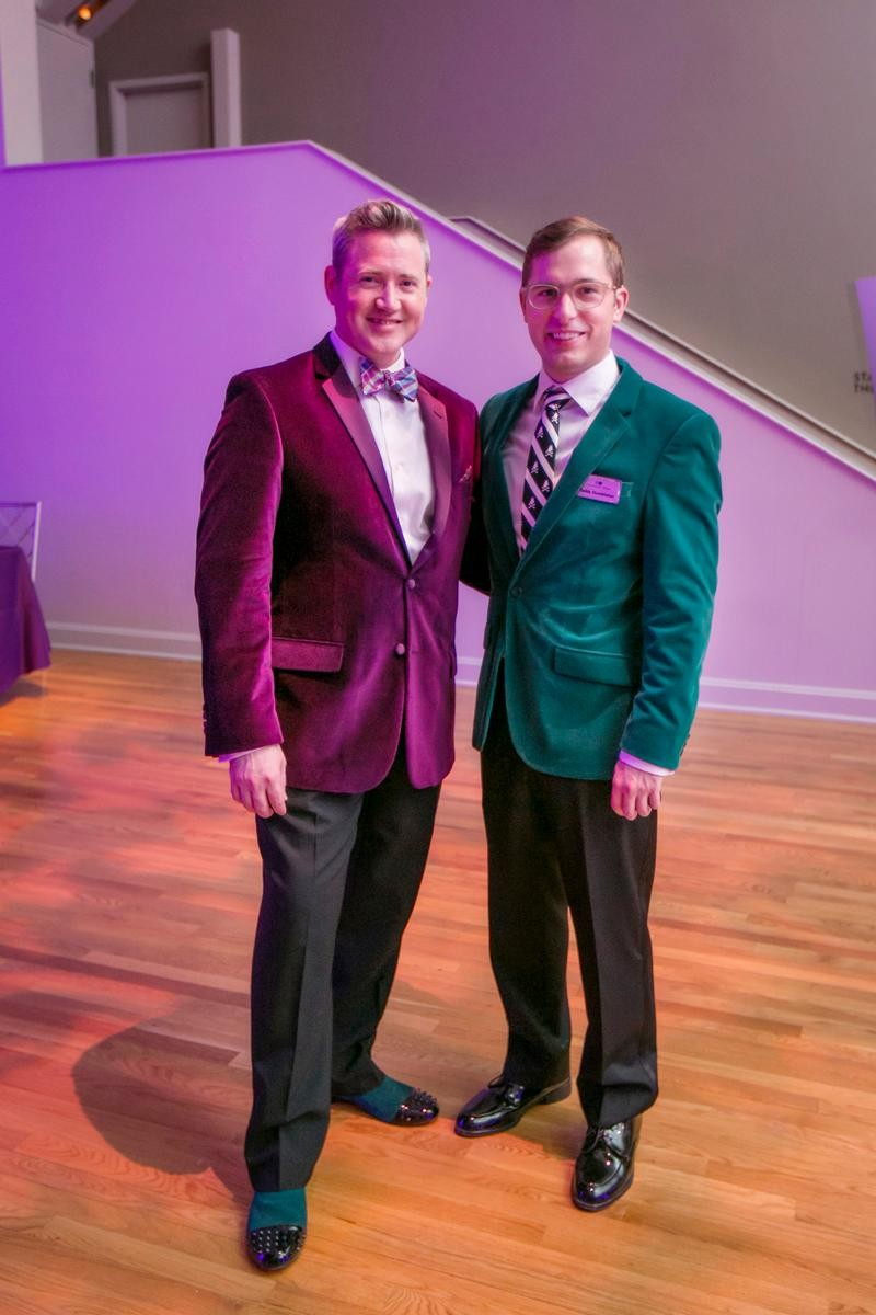 People: Joe Peacock and Teddy Gumbleton / Event: Opera's Brick House Bash (11.18.17) / Image: Mike Bresnen Photography / Published: 12.1.17