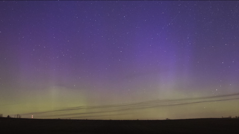 Inside the Storm: Incredibly bright northern lights spotted in Iowa overnight