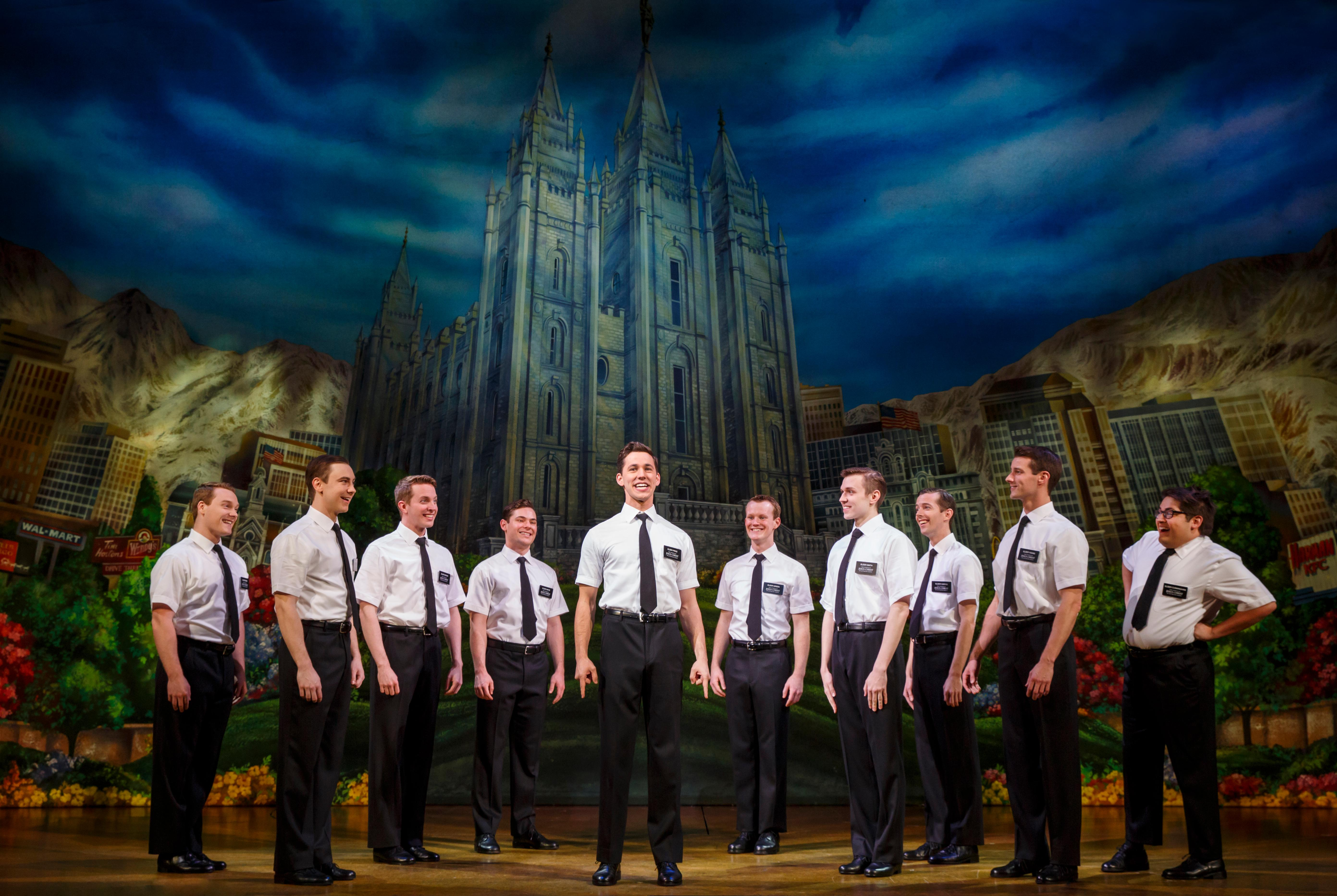 "Kevin Clay, who calls D.C. his hometown, graduated from Pennsylvania State University in May, 2015 and was busy exploring Mormonism by November after landing an ensemble role in the second national tour of Broadway darling and international sensation, ""The Book of Mormon."" (Image: Joan Marcus)"