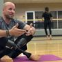 Veteran changing lives with yoga