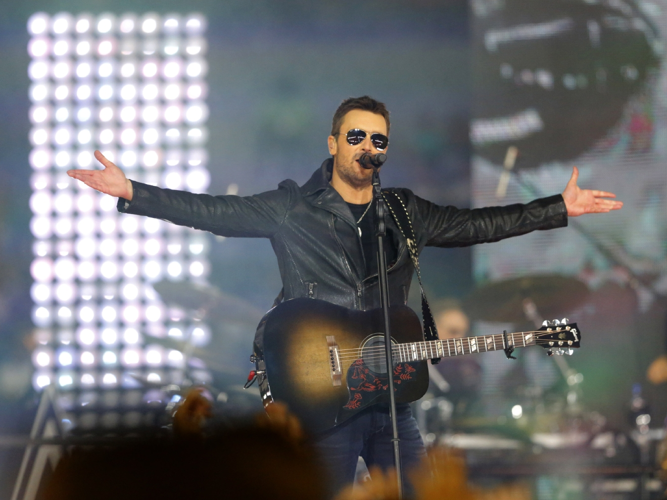 "Eric Church brings his ""Holdin' My Own Tour"" to the Verizon Center on May 19. (Image: Mike Fuentes/WENN.com)"